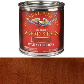 Warm Cherry Stain Solvent Based 1/2 Pint