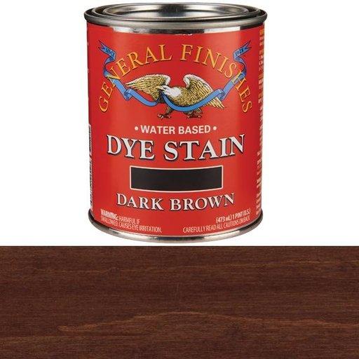 View a Larger Image of Dark Brown Dye Water Based Pint