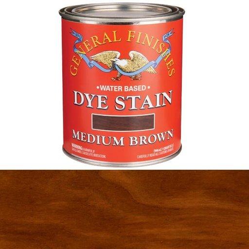 View a Larger Image of Medium Brown Dye Water Based Quart