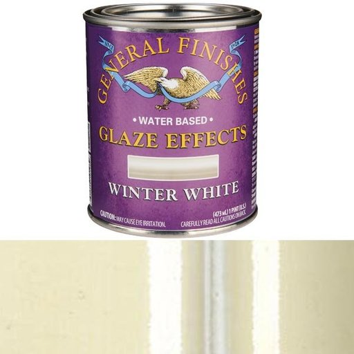 View a Larger Image of Winter White Glaze Water Based Pint