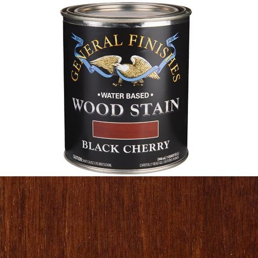 View a Larger Image of Black Cherry Stain Water Based Quart