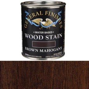 Brown Mahogany Stain Water Based Pint
