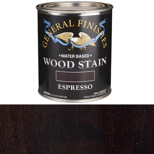 View a Larger Image of Expresso Stain Water Based Quart