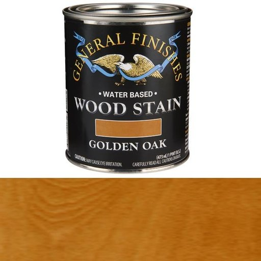 View a Larger Image of Wood Stain, Water Based, Golden Oak Stain, Pint