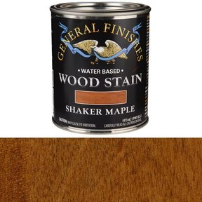 Wood Stain, Water Based, Shaker Maple Stain, Pint