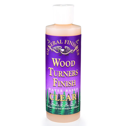 View a Larger Image of Gloss Wood Turner's Finish Water Based 8 oz