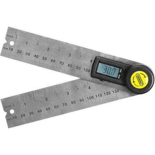 """View a Larger Image of 5"""" Digital Angle Finder with Rules, Model 822"""