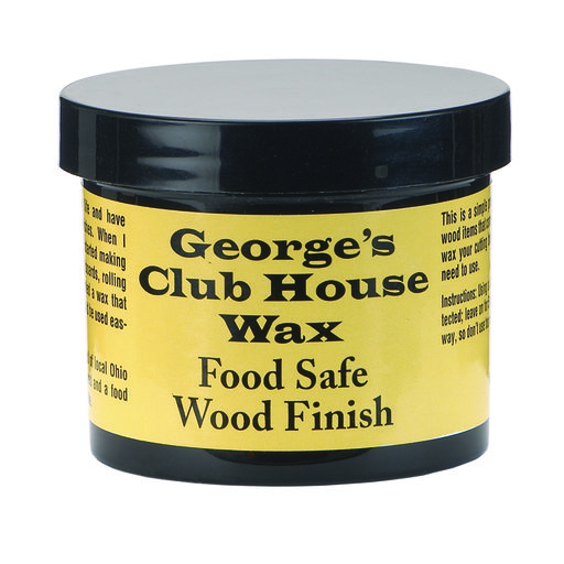 View a Larger Image of Wax Woodenware George's Club House 4 oz