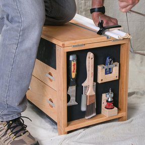 Get to Work with a Tool Stool Downloadable Plan