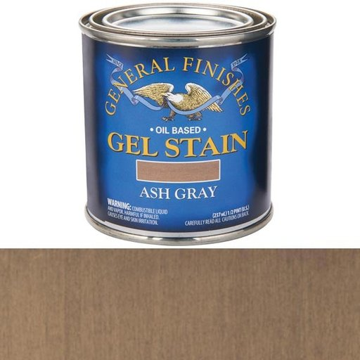 View a Larger Image of Ash Gray Stain Gel Solvent Based 1/2 Pint