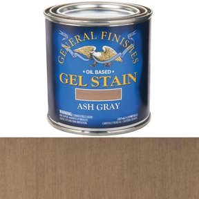 Ash Gray Stain Gel Solvent Based 1/2 Pint