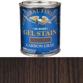 Carbon Gray Stain Gel Solvent Based Pint