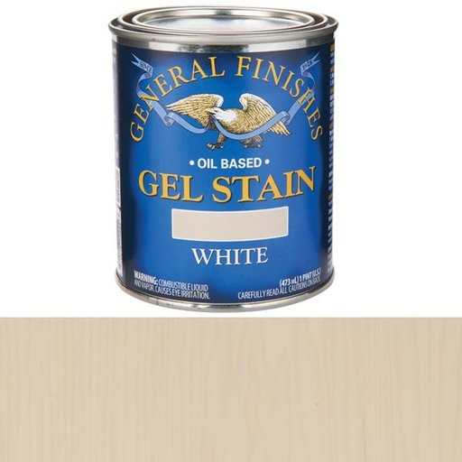 View a Larger Image of White Stain Gel Solvent Based Pint