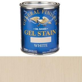 White Stain Gel Solvent Based Pint