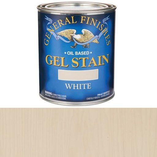 View a Larger Image of White Stain Gel Solvent Based Quart