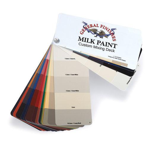 View a Larger Image of GF Milk Paint Fan Deck