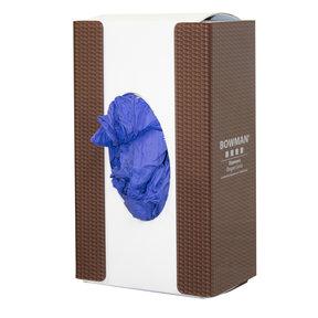 Glove Box Dispenser Brown Carbon Squares