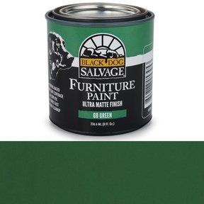 Go Green' - Green Furniture Paint, 1/2 Pint 236.6ml (8 fl. Oz.)