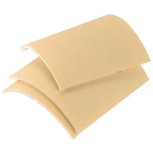 """View a Larger Image of Goldflex Soft 4 1/2"""" X 5"""" Foam-Backed Abrasive Pad 600, , 200/roll"""