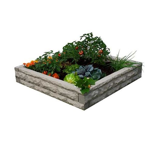 View a Larger Image of Good Ideas Garden Wizard Raised Garden Bed, Sandstone