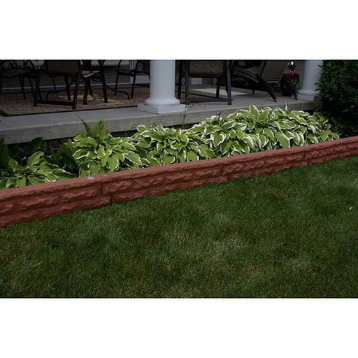 View a Larger Image of Good Ideas Garden Wizard Stone Border, Red Brick