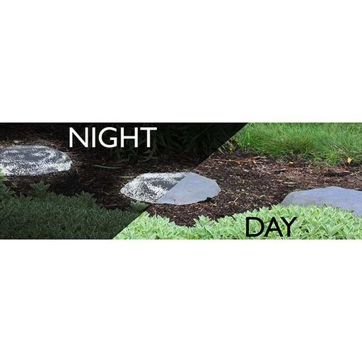 View a Larger Image of Good Ideas Luna Stepping Stone, Light Gray, 2 pack