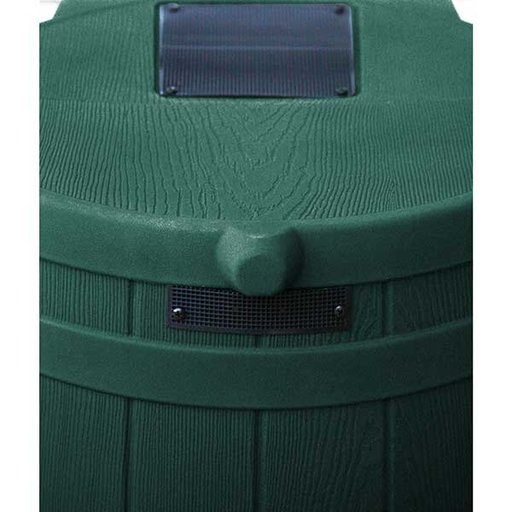 View a Larger Image of Good Ideas Rain Wizard 40, 40 Gallon, Green