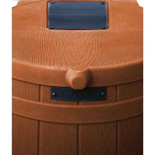 View a Larger Image of Good Ideas Rain Wizard 50, 50 Gallon, Terra Cotta