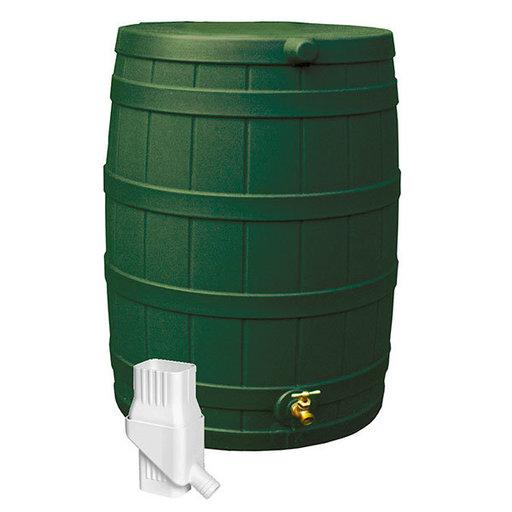 View a Larger Image of Good Ideas Rain Wizard 50 Diverter Kit, Green