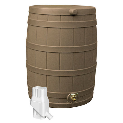 View a Larger Image of Good Ideas Rain Wizard 50 Diverter Kit, Khaki