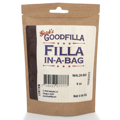 View a Larger Image of Walnut Water Based Wood Grain Filler 6 oz