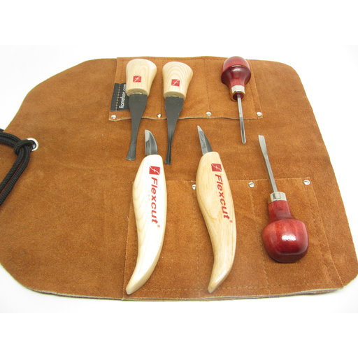 View a Larger Image of Palm and Knife Set, 6 pc