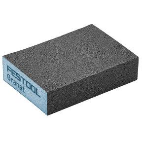 "GRANAT Abrasive Sponge 2.7"" x 3.8"" x 1"" 220G, 6 Pack"