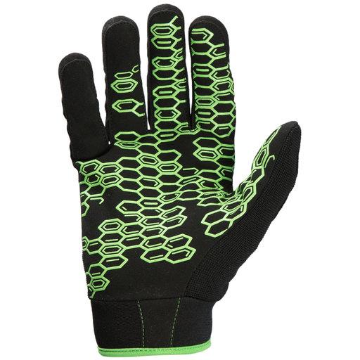 View a Larger Image of Grasper Gloves, Black/Green, XXL