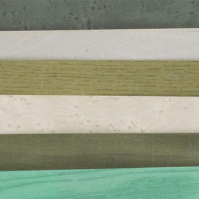 """4-1/2"""" to 6-1/2"""" Width 3 sq ft Assortment Pack Green Dyed Wood Veneer"""