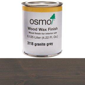Grey Granite Wood Wax 3118Solvent Based .125 l