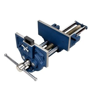 """7"""" Quick Release Woodworking Vise with Quick Adjustment Lever"""