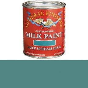 Gulf Stream Blue Milk Paint Water Based Pint