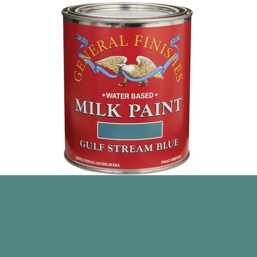 View a Larger Image of Gulf Stream Blue Based Milk Paint Quart