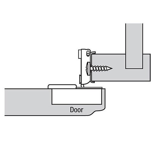 """View a Larger Image of 110° 5/8"""" Overlay Hinge Pair"""