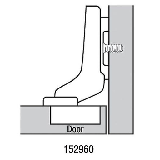 View a Larger Image of 110° Inset Hinge Pair