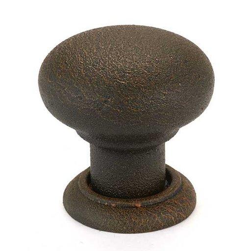 View a Larger Image of 125.88.051 Bordeaux Knob, Rust, 32mm, 1 piece