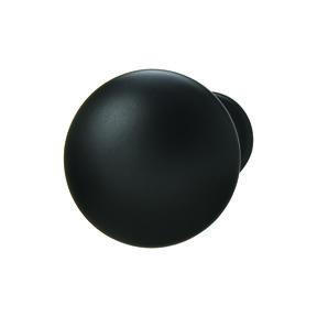 Chanterelle Black Matte Knob 30 x 28 mm
