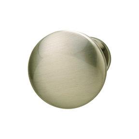 Chanterelle Brushed Nickel Knob 30 x 28 mm