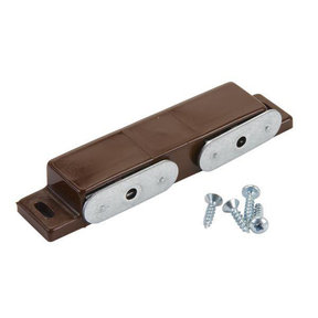 Double Magnetic Catch Brown