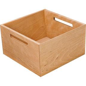 """Fineline Kitchen Storage Box 2 – Birch – 8-5/16"""" x 8-5/16"""" x 4-3/4"""""""