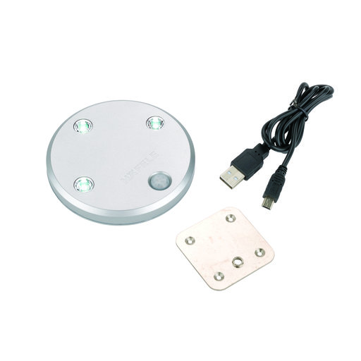View a Larger Image of LOOX Rechargeable LED Cabinet Light with Built-in Motion Sensor, Round