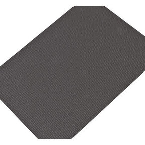 """Non-Slip Mat, Fiber Pattern, Quartz Gray, 23-5/8"""" x 46-1/16"""""""