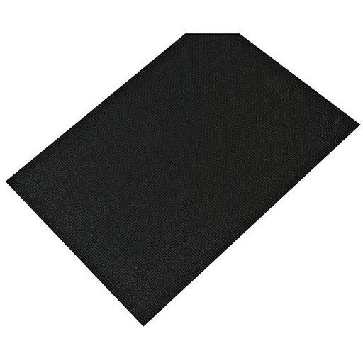 "View a Larger Image of Non-Slip Mat, Fiber Pattern, Umbra Gray, 23-5/8"" x 46-1/16"""