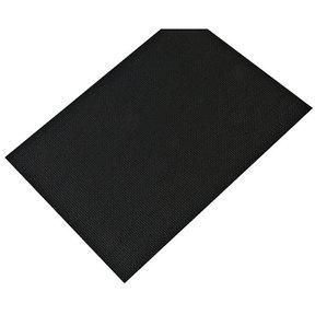 """Non-Slip Mat, Fiber Pattern, Umbra Gray, 23-5/8"""" x 46-1/16"""""""